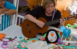 An Ordinary Day in the Life of a Music Therapist at Children's Hospital of Pittsburgh of UPMC