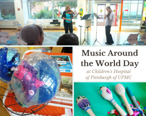 Music Around the World Day at Children's Hospital of Pittsburgh of UPMC Photo Collage Book